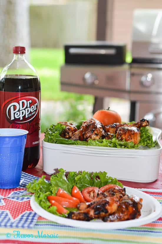 Dr-Pepper-Maple-Mustard-Chipotle-BBQ-Chicken Grilling, #backyardbash, #cbias #shop