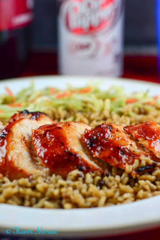 Dr Pepper Maple Mustard Chipotle Barbecue Chicken Grilling #backyardbash #cbias #shop