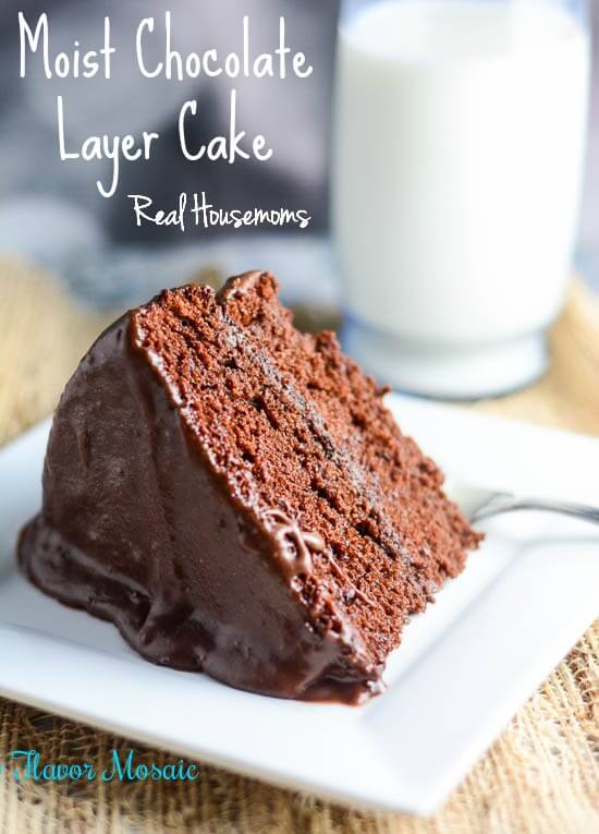 Moist Chocolate Layer Cake