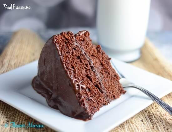 Moist Chocolate Layer Cake