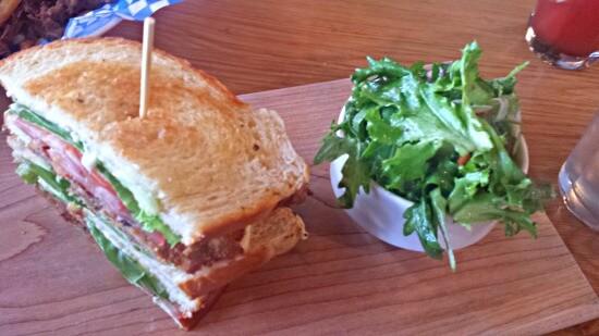 Schnitzel BLT Salad