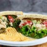 Summer Chicken Salad Sandwich
