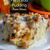 Cinnamon Apple Pie Bread Pudding (French Toast Casserole)
