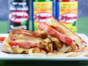 Habanero Hot Sauce Grilled Cheese-11