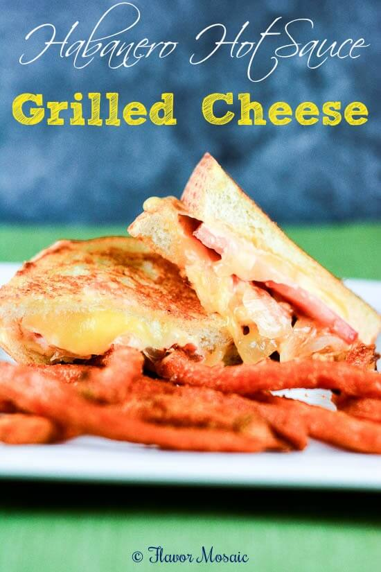 Habanero Hot Sauce Grilled Cheese