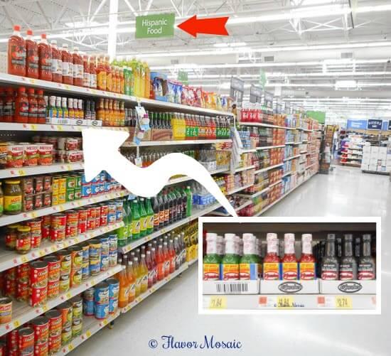 Habanero Hot Sauce In Store Photo