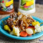 Juicy Pot Roast with Italian and Ranch Dressing Recipe