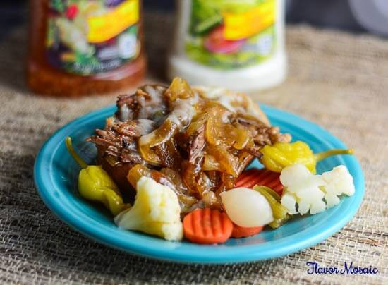 Juicy Pot Roast with Italian Ranch Sauce