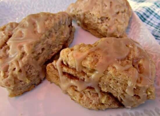 Mini Apple Cinnamon Scones