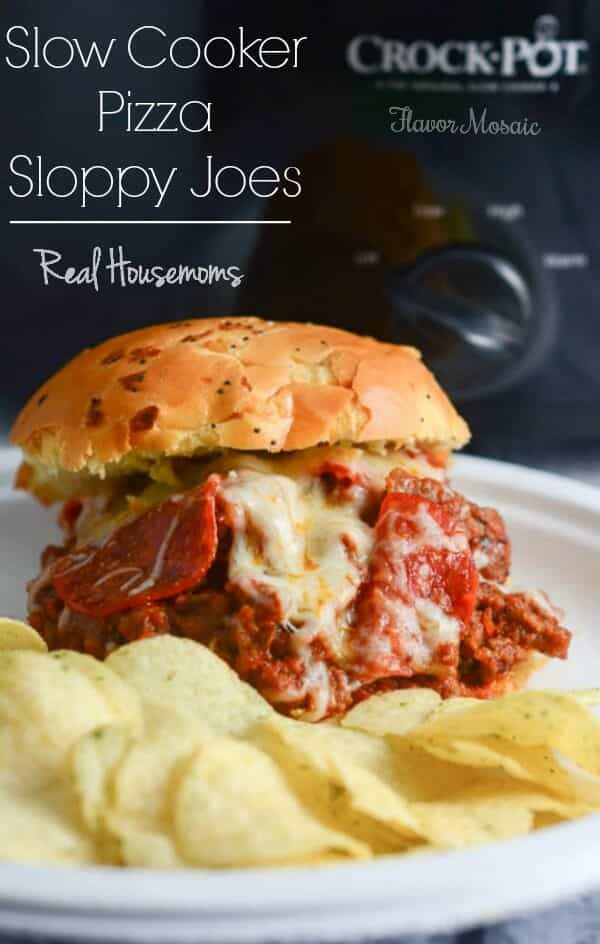 Slow Cooker Pizza Sloppy Joes-RH-2