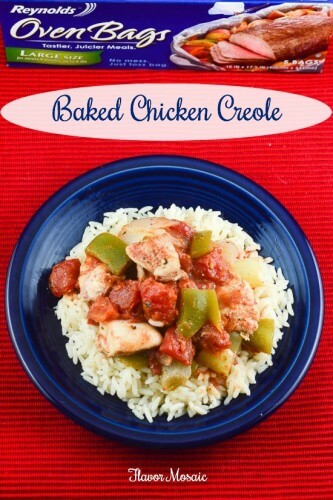 Baked Creole Chicken