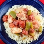 Baked Chicken Creole