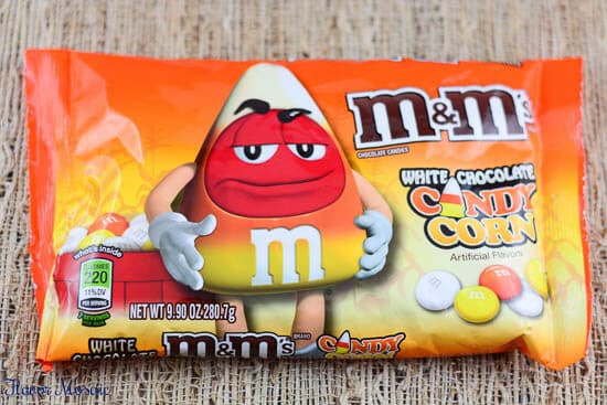 Candy Apple M&M Magic Bars
