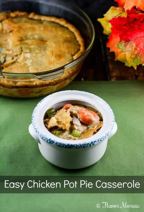 Easy Chicken Pot Pie Casserole recipe