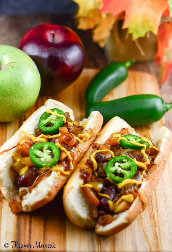 Braised Brats Apples and Onions Gallo Wine