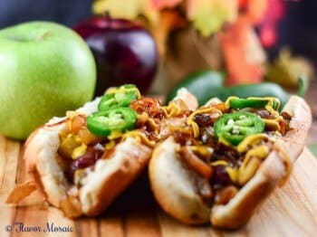 Brats with Onions and Apples Gallo Wine