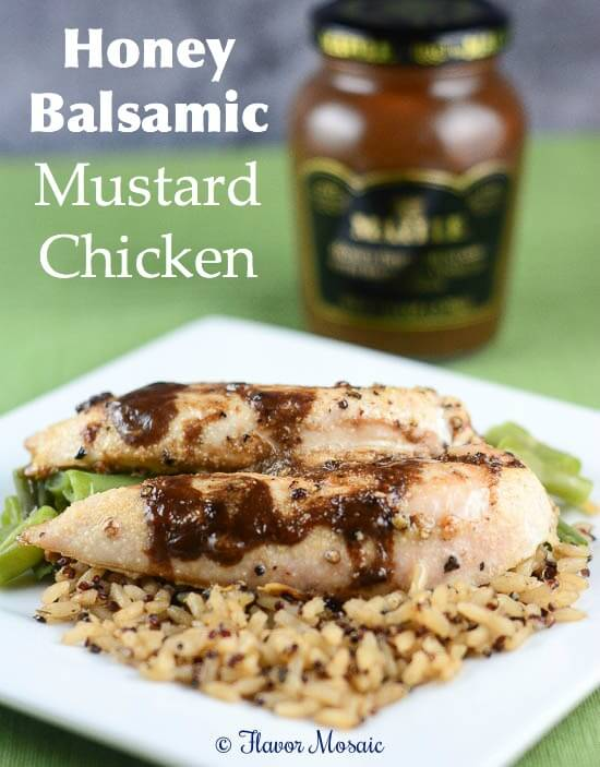 Honey Balsamic Mustard Chicken