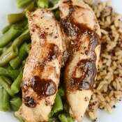 Honey Balsamic Mustard Chicken