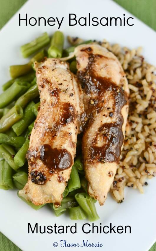 Honey Dijon Balsamic Chicken Tenders