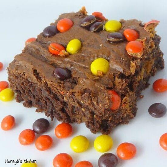 M&M Brownies