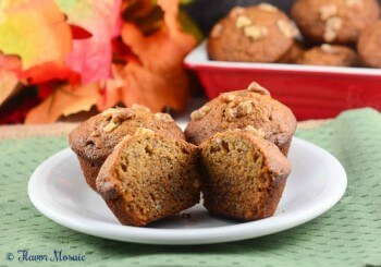 Banana Nut Cinnamon Muffins
