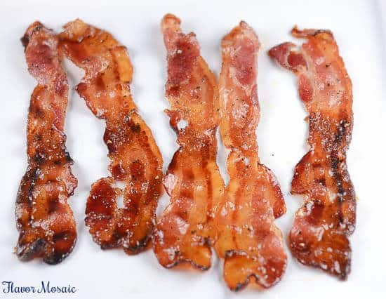 Caramelized Peppered Bacon