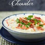 Cauliflower Chowder #SundaySupper