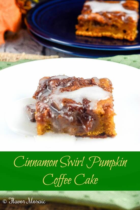 Easy Cinnamon Swirl Coffee Cake