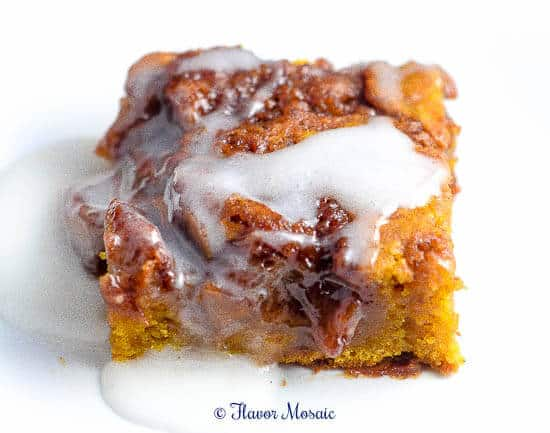 Cinnamon Swirl Pumpkin Coffee Cake