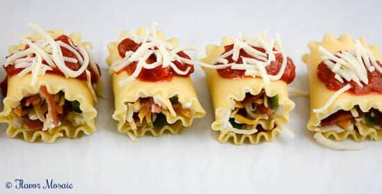 Jalapeno Popper Lasagna Rolls
