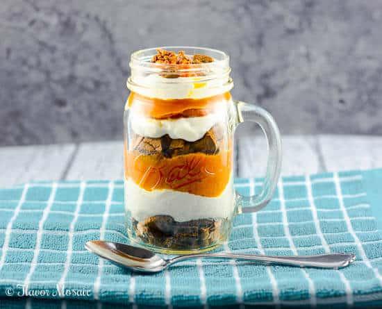 Pumpkin Pie Yogurt Parfait
