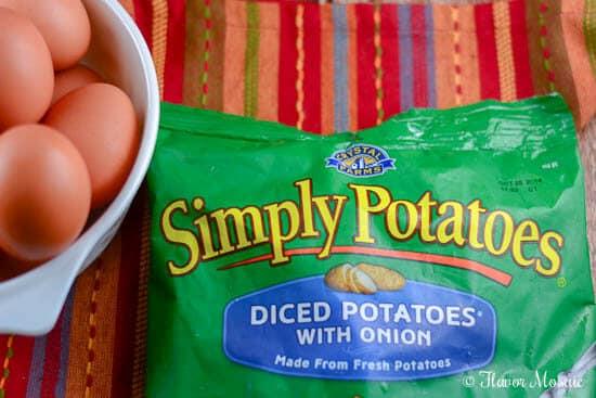 Rustic Spanish Potato Omelette Recipe