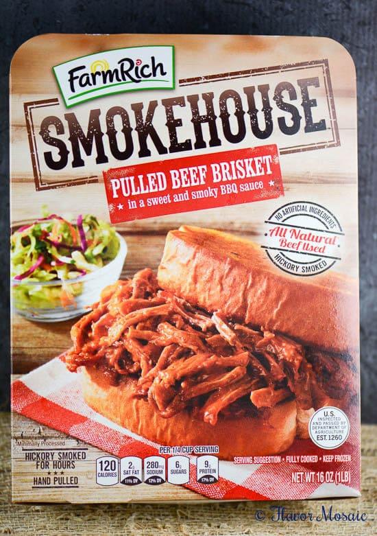 Farm Rich Smokehouse BBQ Salsa Sliders