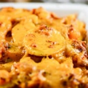 Sun Dried Tomato Pesto Cheesy Potatoes