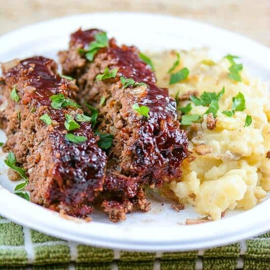 BBQ Salsa Meatloaf Comfort Food