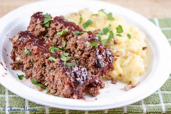 BBQ Salsa Meatloaf