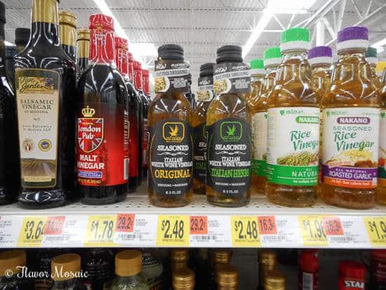 De Nigris Vinegars Close Up In-Store Photo