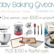 Holiday Baking Giveaway