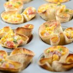 Mini Corn Dip Taco Cups – Delicious Party Food