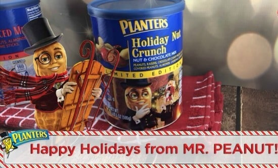 Mr Peanut Holiday Crunch
