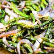 Oven Roasted Green Beans