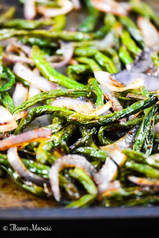 Oven Roasted Green Beans - Flavor Mosaic