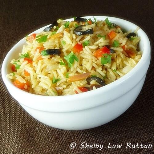 Saffron Almond Rice Pilaf SLR (1)