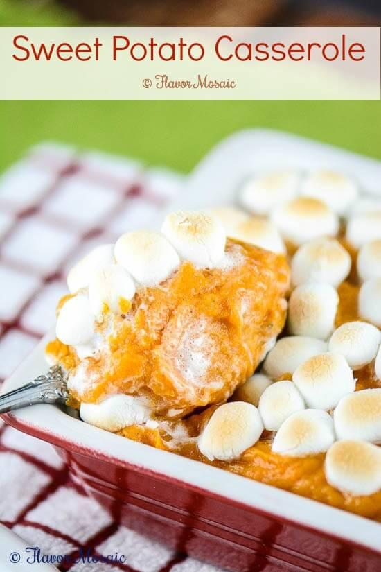 Sweet Potato Casserole-with Marshmallows