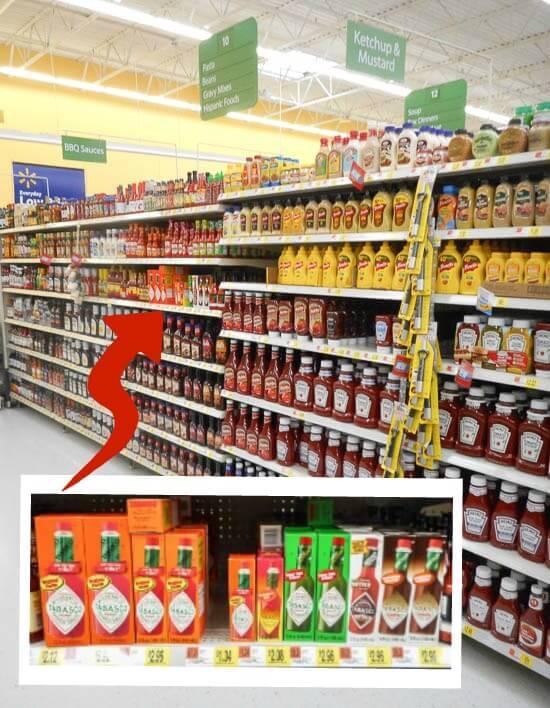 Tabasco In-Store