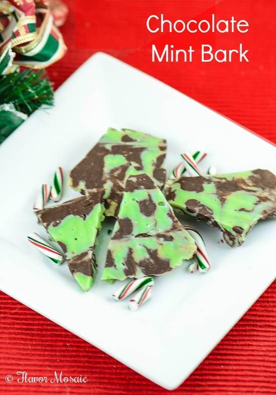 Chocolate Mint Bark