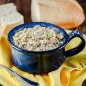 Gluten Free Creamy Chicken and Wild Rice Soup