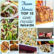 Flavor Mosaic's 2014 Top 10 Most Viewed Posts