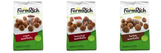 FarmRich Meatballs Collage