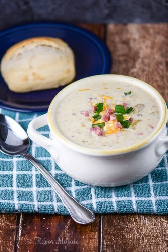 Leftover Ham and Potato Soup